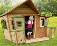 Детский деревянный домик своими руками