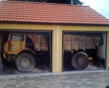 Дизайн гаражных ворот