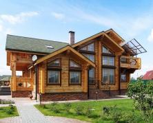 дома и коттеджи из дерева