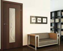 Двери со стеклянными вставками в интерьере