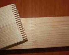 сращивание древесины по длине