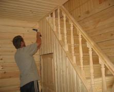 Защита деревянных поверхностей лакокрасочными материалами