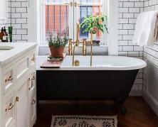 Какая мебель может скрыть недостатки вашей ванной комнаты