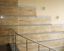 облицовка стен помещений мрамором