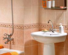 подобрать плитку для ванной комнаты