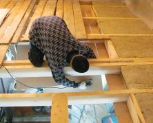 Шумоизоляция потолка в деревянном доме