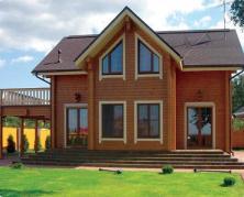 частный дом из дерева