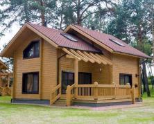 Строительство современных домов из дерева