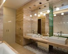 зеркальное полотно для ванной
