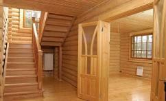 Применение деревянной вагонки для внутренней отделке