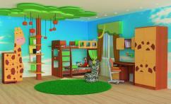 Детская мебель из массива дерева