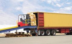Фиксации грузов в контейнерах
