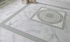 Итальянская плитка из мрамора Carrara