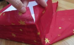 Как сделать подарочную коробку из обувной