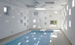 крытый бассейн в частном доме