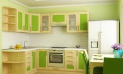 Кухня квадро