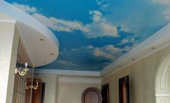Натяжные потолки Небосвод