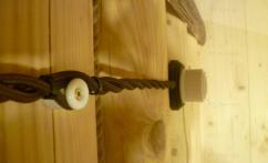 проводка для деревянного дома