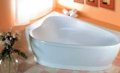 ванна треугольной формы