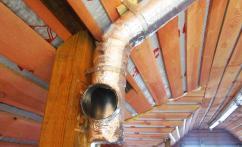 Вентиляция и кондиционирование в деревянном доме