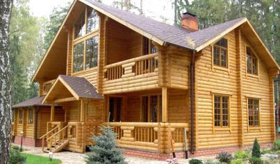 дома из кедра