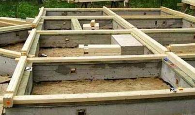 Какой фундамент выбрать для здания из бруса