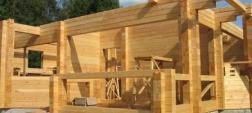 Строительство домов из профильного бруса.
